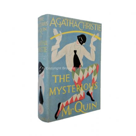 The Mysterious Mr Quin by Agatha Christie First Edition First Impression W Collins Sons & Co 1930